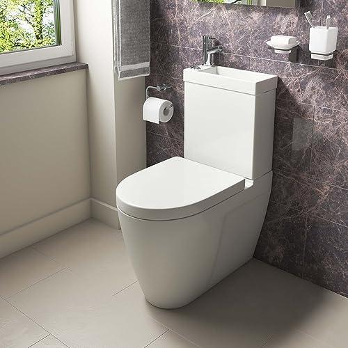 Home Standard® Combo 2 In 1 Bathroom Dual Toilet U0026 Basin Sink Combination