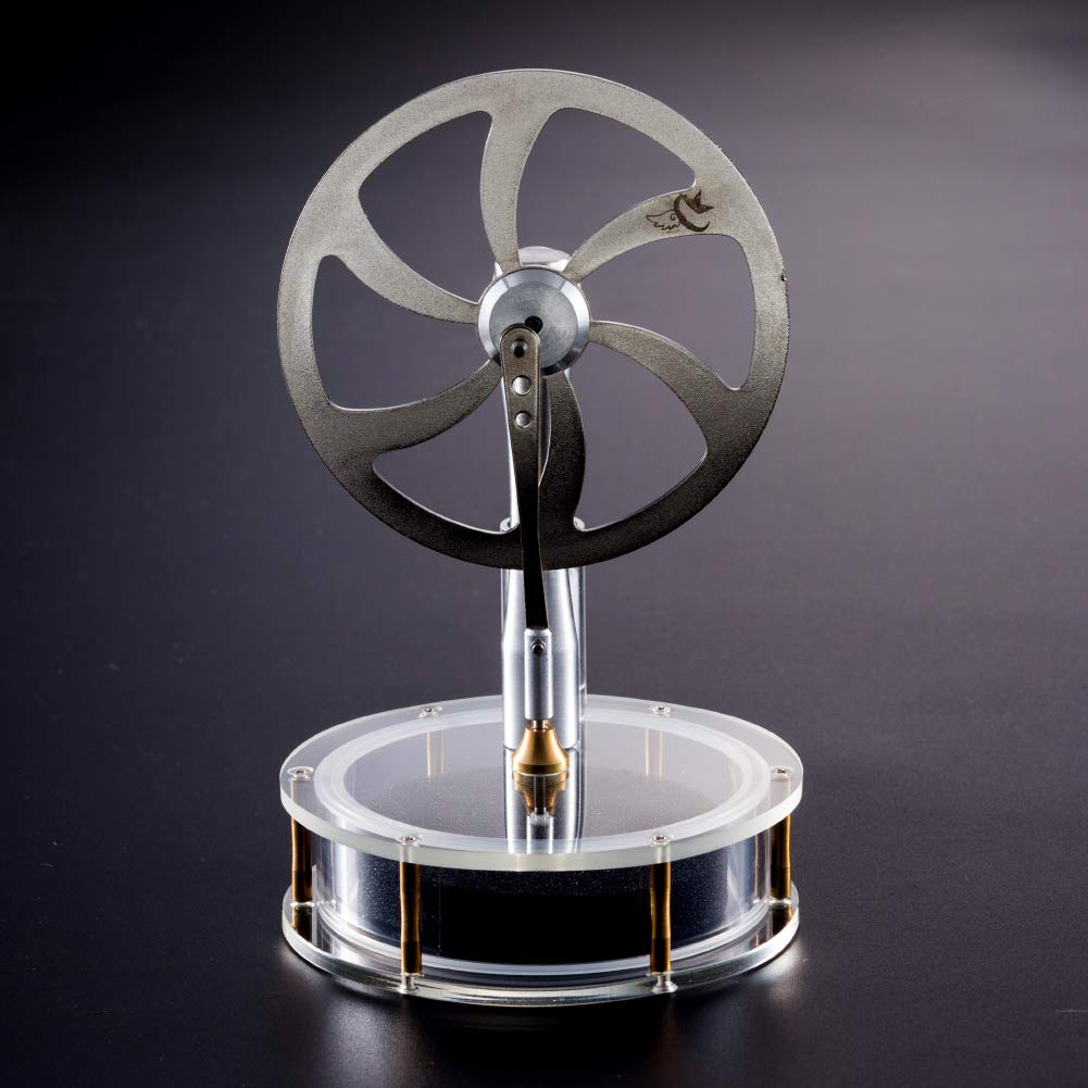 At27clekca Low Temperature Stirling Engine Stainless Steel Motor Steam Heat Education Model Toy Kit by At27clekca (Image #5)