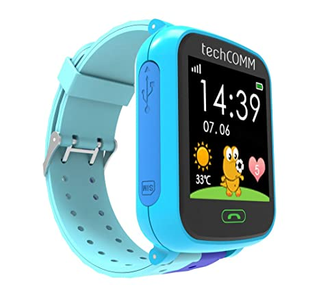Amazon.com: techcomm G200S GSM desbloqueado niños Smartwatch ...
