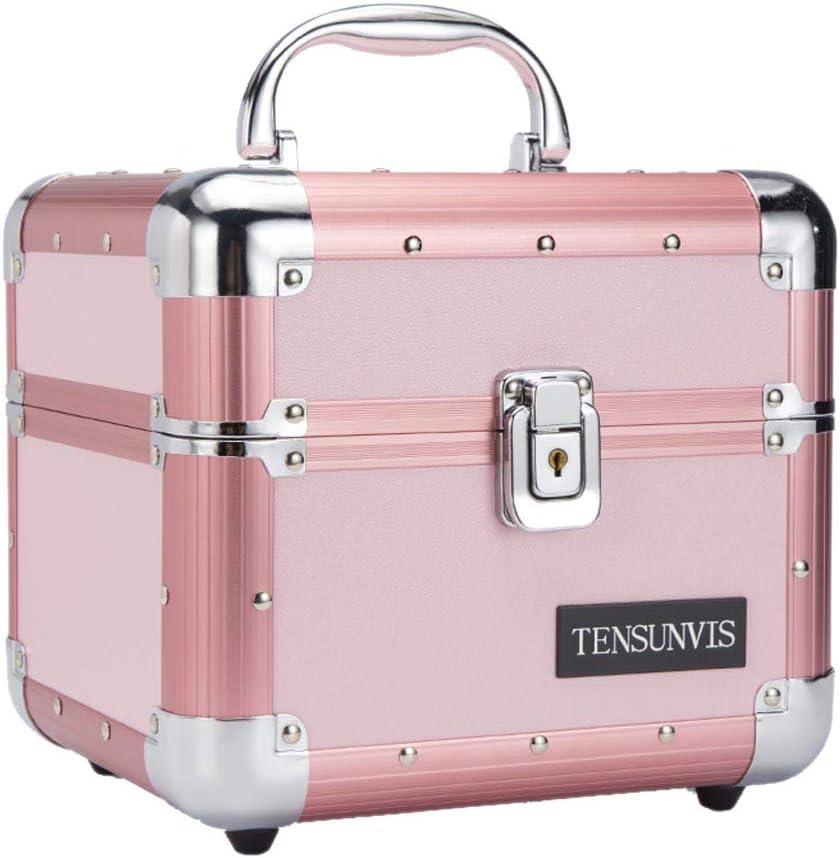収納ボックス22×20×20cm化粧箱入りジュエリー収納ボックス女の子ピンク小物ポータブル
