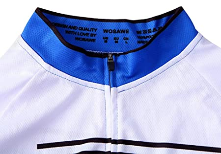 sue Pantalones de Jersey de Ciclismo Unisex Tira Reflectante 4D Diseño de  Almohadilla de Gel Adecuado para Montar a Caballo Largo y Corto Negro con  Azul 3a553bf5512f6