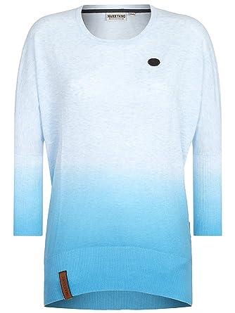 Naketano Women's Knit Sweater Gerda Pampelmuse IV Cloudy Melange, ...