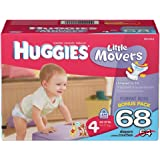 Huggies Little Movers, Size 4, 68 Count...