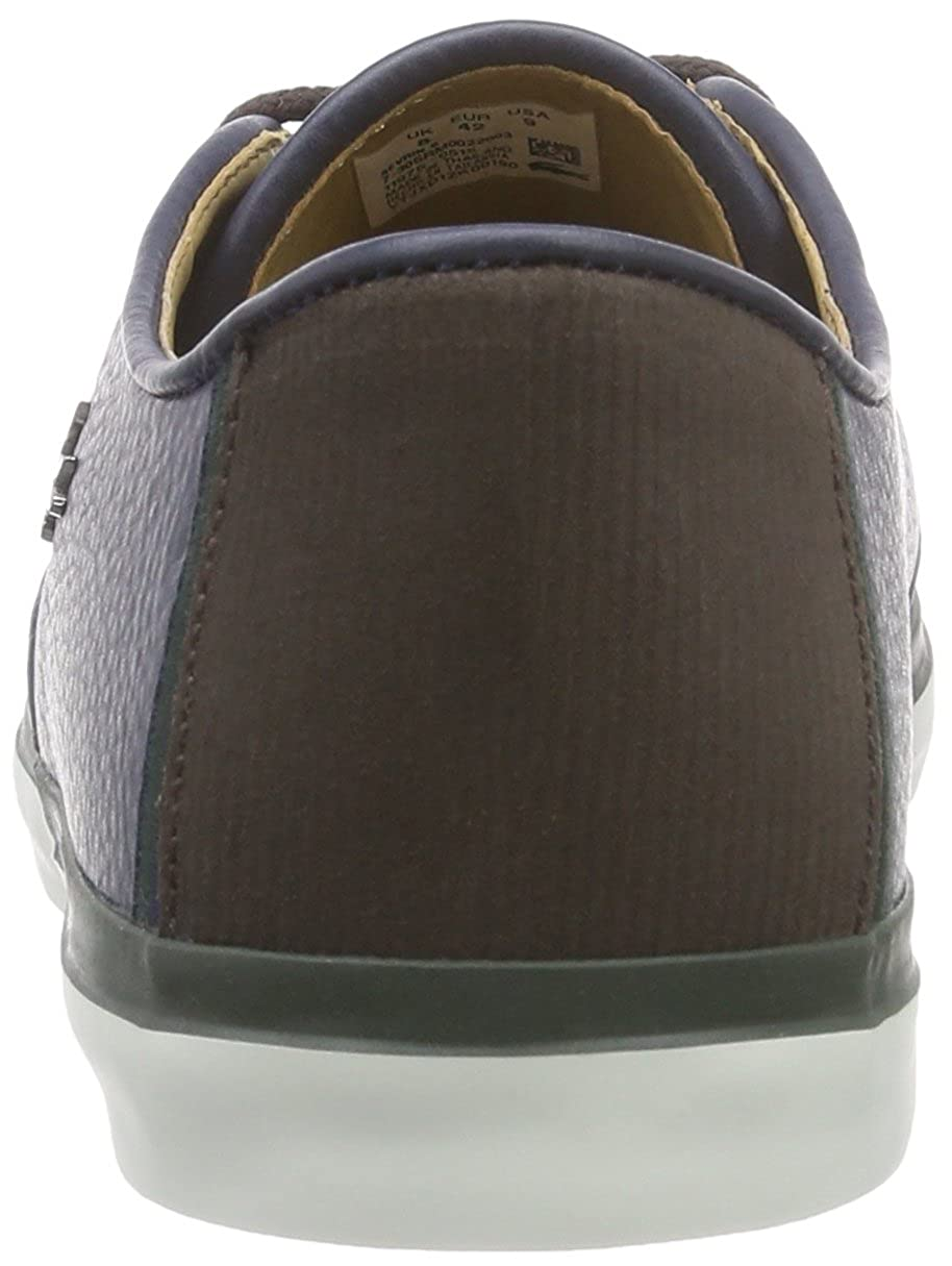 Lacoste SEVRIN 8, Sneakers basses homme, Bleu - Blau (NVY 003), 40