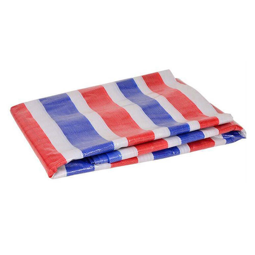 LIXIONG オーニング テント 屋外 トラッククロス 日焼け止め 雨をカバーする 断熱 抗UV 、23サイズ (色 : Color stripe, サイズ さいず : 3.8 x 9.8 m) B07FYR9C8C 3.8 x 9.8 m|Color stripe Color stripe 3.8 x 9.8 m