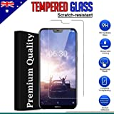 [2-Pack] Nokia 6.1 Plus/Nokia X6 Tempered Glass LCD Screen Protector Film Guard
