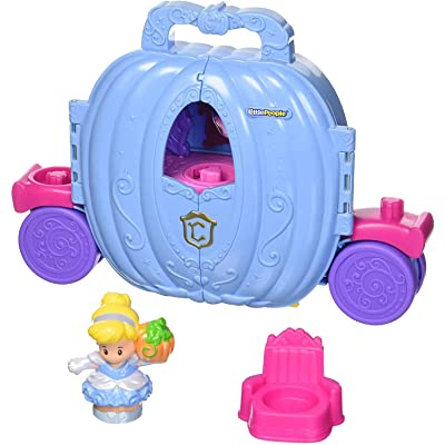 Fisher-Price Little People Disney Princess, Cinderella's Carriage: Toys & Games