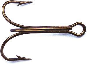 Mustad 3551 Classic Treble Standard Strength Fishing Hooks