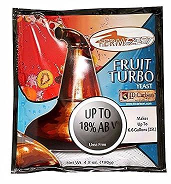 Amazon.com: fermfast Frutas Turbo 120 g de levadura Packet ...