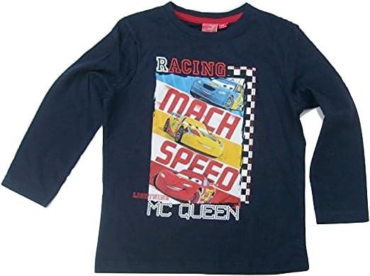 Disney Cars Langarm Shirt Longsleeve Sweatshirt Baumwolle 98 104 116 128 NEU