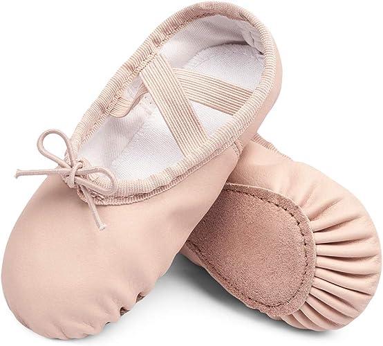 Amazon.com: STELLE Girls Ballet Practice Shoes, Yoga Shoes ...
