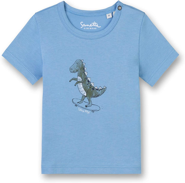 Sanetta Dino Shirt blau114486 gr.68