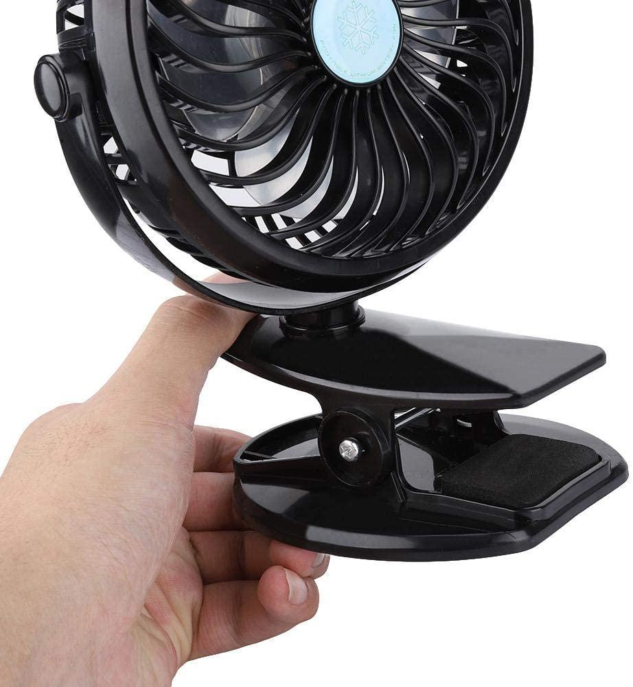 Zoternen Ventilador portátil 3.500 RPM con Mini Clip