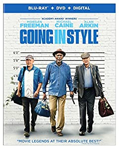 Cover Image for 'Going in Style [Blu-ray + DVD + Digital]'
