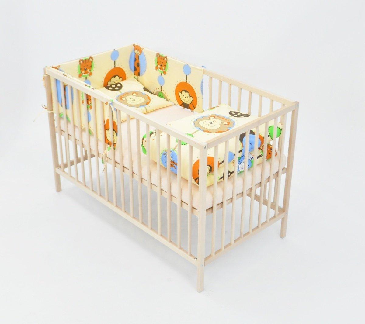 Set completo di 6 pezzi lenzuola per lettino 120x60 neonato bambino ...