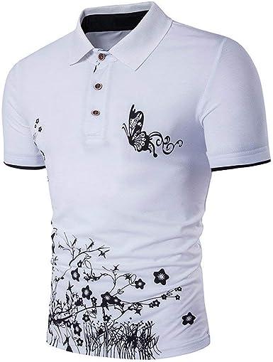 Camisa De Manga Corta Camisas Polo Polo Leotardo Simple ...