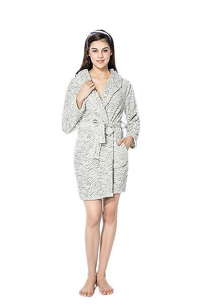Albornoz Mujer Verano Cortos Kimono Moda Casual Cómodo ...