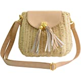 Tonwhar® Lady's Vintage Straw Summer Purse Leisure Beach Bag