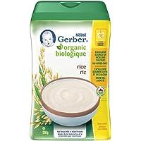 Gerber GERBER Organic Rice Cereal, 208 g (Pack of 6), 6 Count