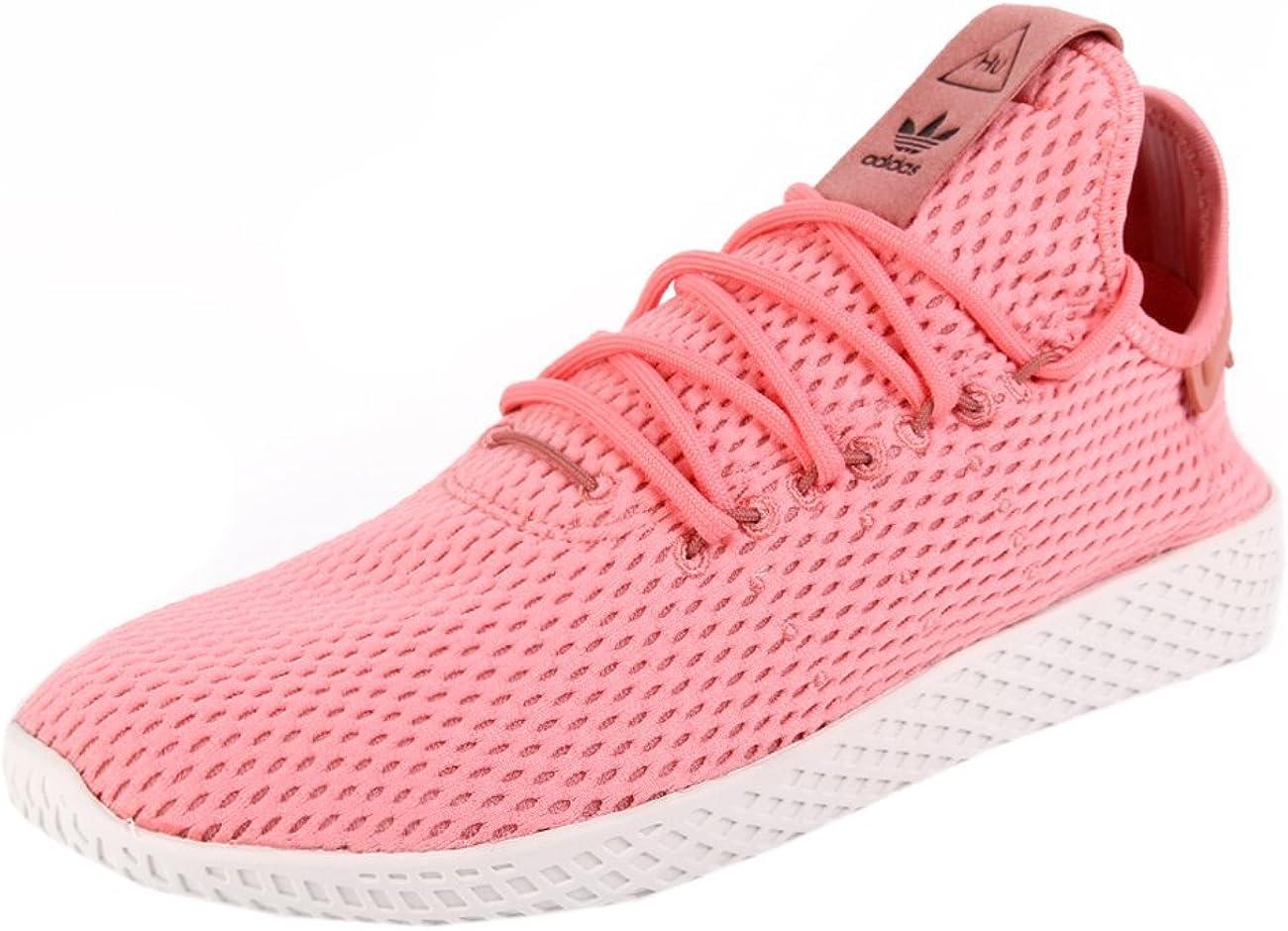 Con fecha de Acostumbrar Interpretación  Amazon.com | adidas Originals PW Tennis HU Mens Trainers Sneakers (UK 9 US  9.5 EU 43 1/3, Pink White BY8715) | Tennis & Racquet Sports