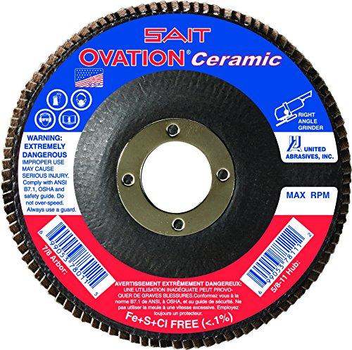 United Abrasives- SAIT 78263 Ovation Ceramic Flap