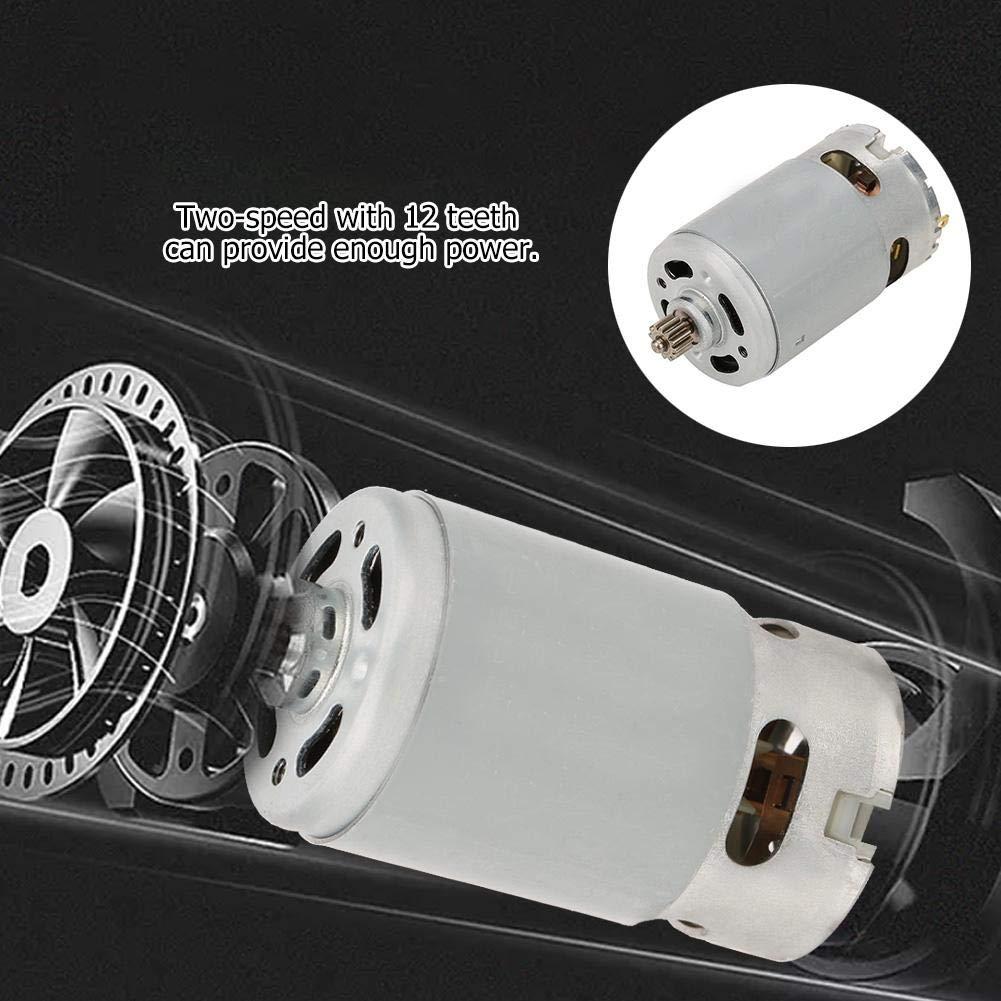 16.8V Moteur moteur industriel /à deux vitesses /à courant continu /à 12 vitesses pour accessoires de perceuse /électrique