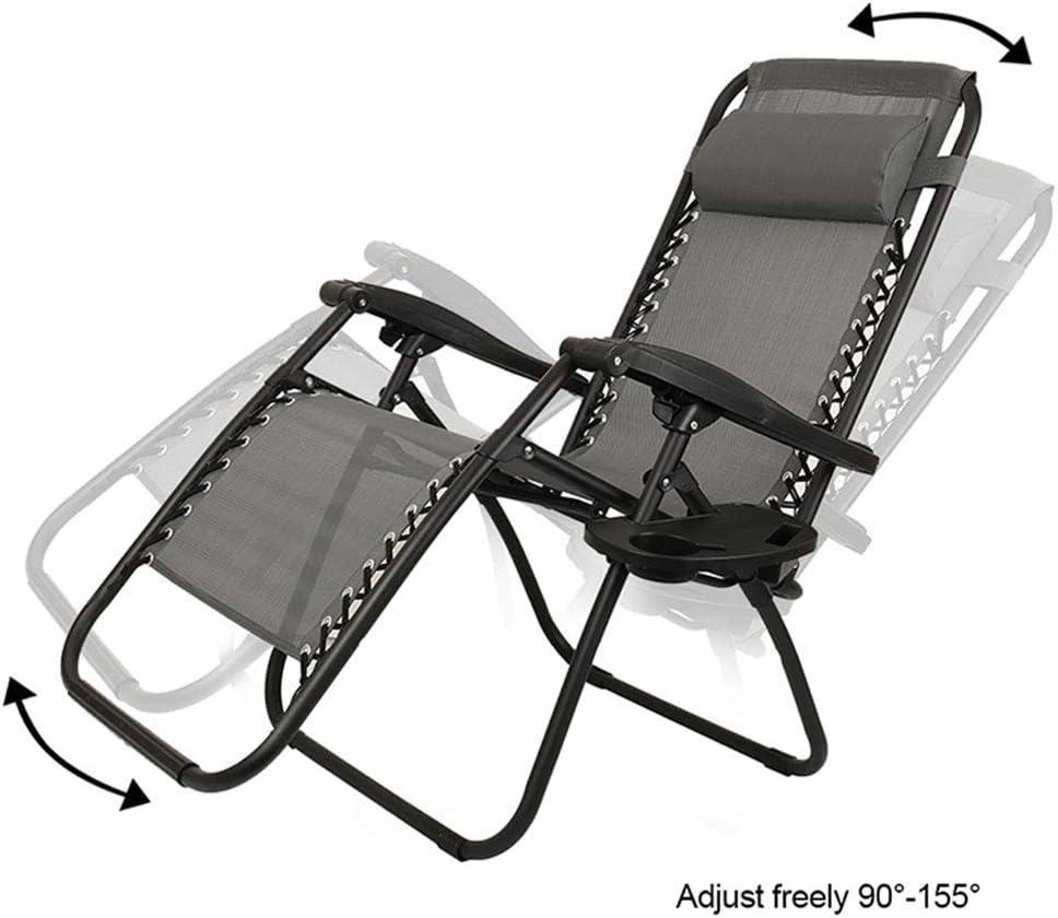 6PCS Chaise Longue Bain de Soleil Pliable Fauteuil Relax extérieur