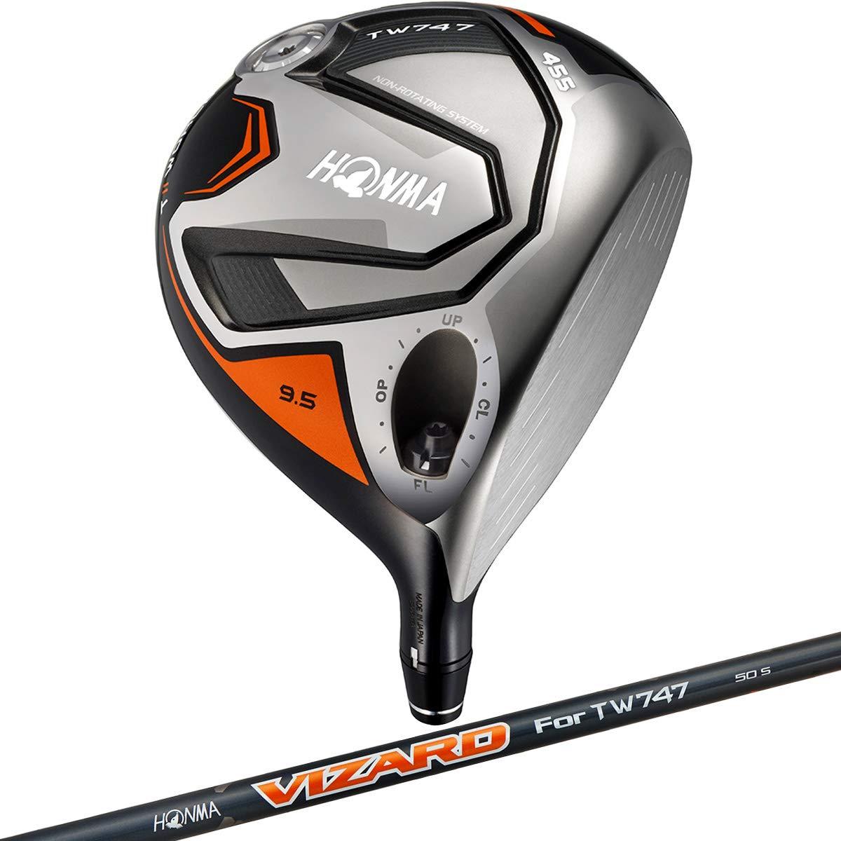 本間ゴルフ ドライバー TW747-455 ドライバー VIZARD for TW747 カーボン メンズ 3190000305560028 右 ロフト角:10.5度 番手:1W フレックス:SR