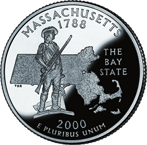 2000 Massachussetts – P State Quarter Roll