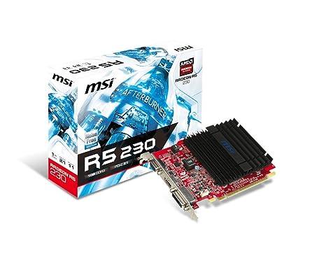 MSI Radeon R5 230 1GD3H LP 1 GB GDDR3 - Tarjeta gráfica ...