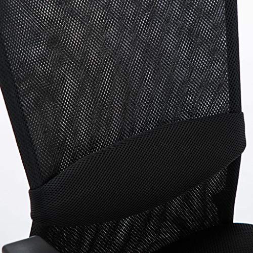 Hög rygg kontorsstol linneduk skrivbordsstolar komfortdesign för ländrygg stöd och stollyftning maxvikt kapacitet 100 kg