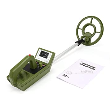 UniqueHeart MD3008 Mini Detector de Metales subterráneo portátil portátil Cazador de Tesoros de Mano Cazador de buscador de Oro Longitud Ajustable: ...
