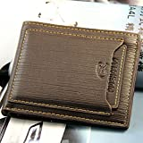High Quality Men's Bifold Leather Wallet ID Credit Card Holder Billfold Purse Clutch,3-7 Days Delivery,bid