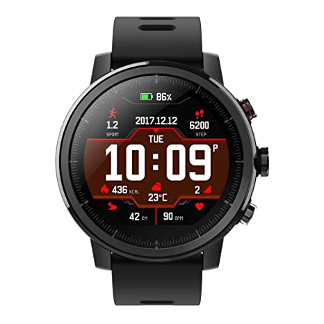 Xiaomi Amazfit Stratos Reloj Inteligente Negro LCD 3,4 cm (1.34