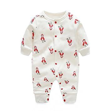 8195f6dd01cf0 DWSIOOW 可愛いプリントカバーオール ベビー服 ジュニア ロンパース 前開き カジュアル 新生児 男の子 女の子 出産祝い プレゼント