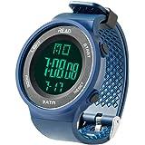 デジタル腕時計 メンズ スポーツウォッチ アラーム 大文字盤 LED バックライト ストップウオッチ
