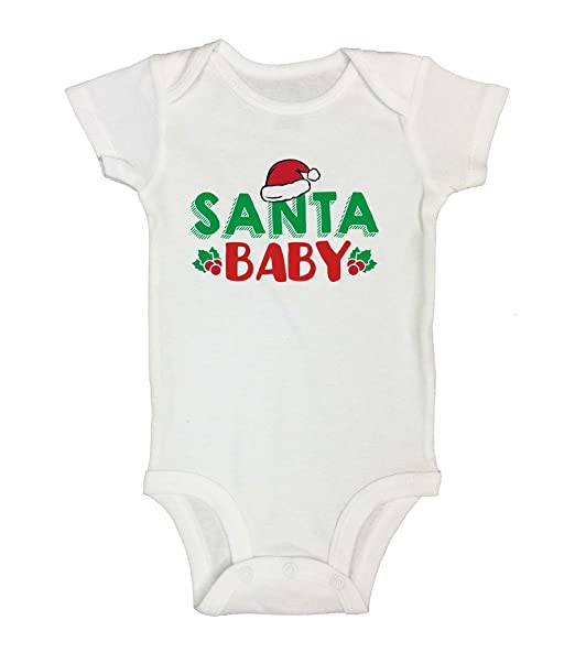 cute girls christmas shirts santa baby little royaltee holiday bodysuits 0 - Christmas Shirts For Girls