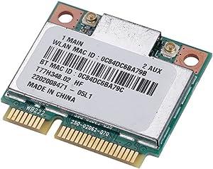 Yosoo Health Gear WiFi Card, Network Bluetooth Card for 7260HMW, Dual Band Wireless Card for Intels AC Half Mini Pcie Card