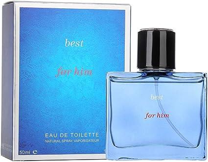 50 ml Perfume para Hombre,Regalo de Acción de Gracias de Navidad de Colonia Marina Fragante de Larga Duración(1): Amazon.es: Belleza