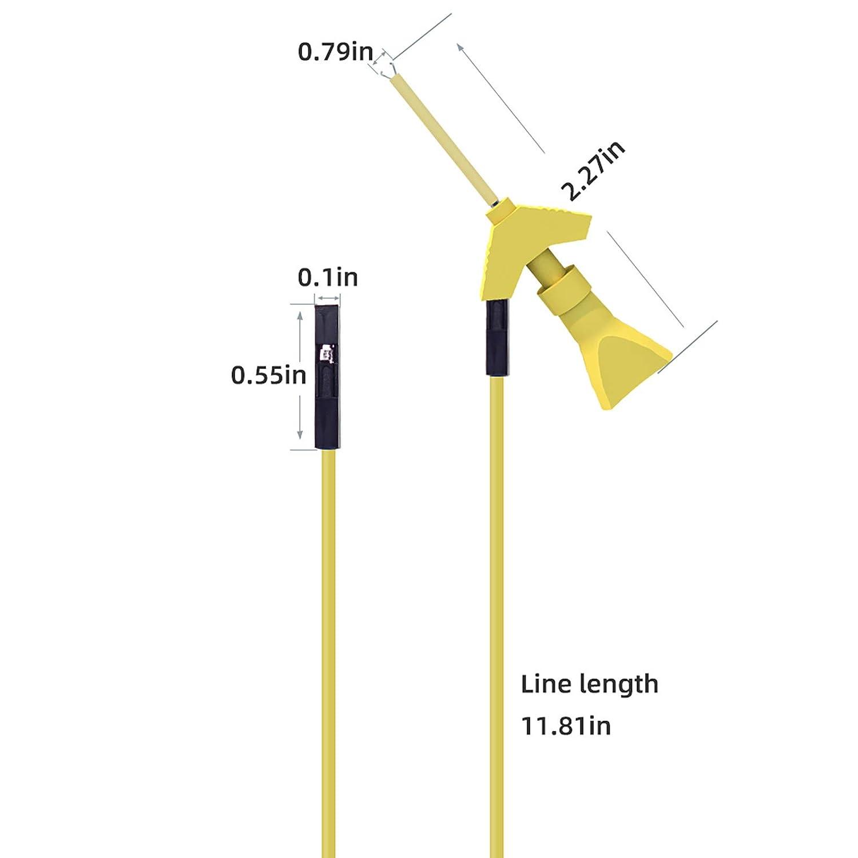Goupchn Mini Grabber SMD IC Test Hook Clip Jumper Probe for Logical Analyzer