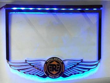 Delhitraderss Bullet License Number Plate Fiber Sheet With