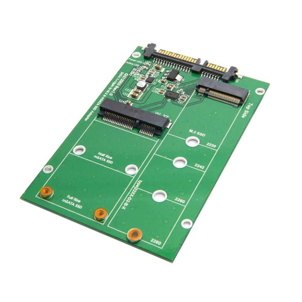 Adaptador de Tarjeta, SATA3a M.2 Disco Duro Dual Uso Over-Current ...