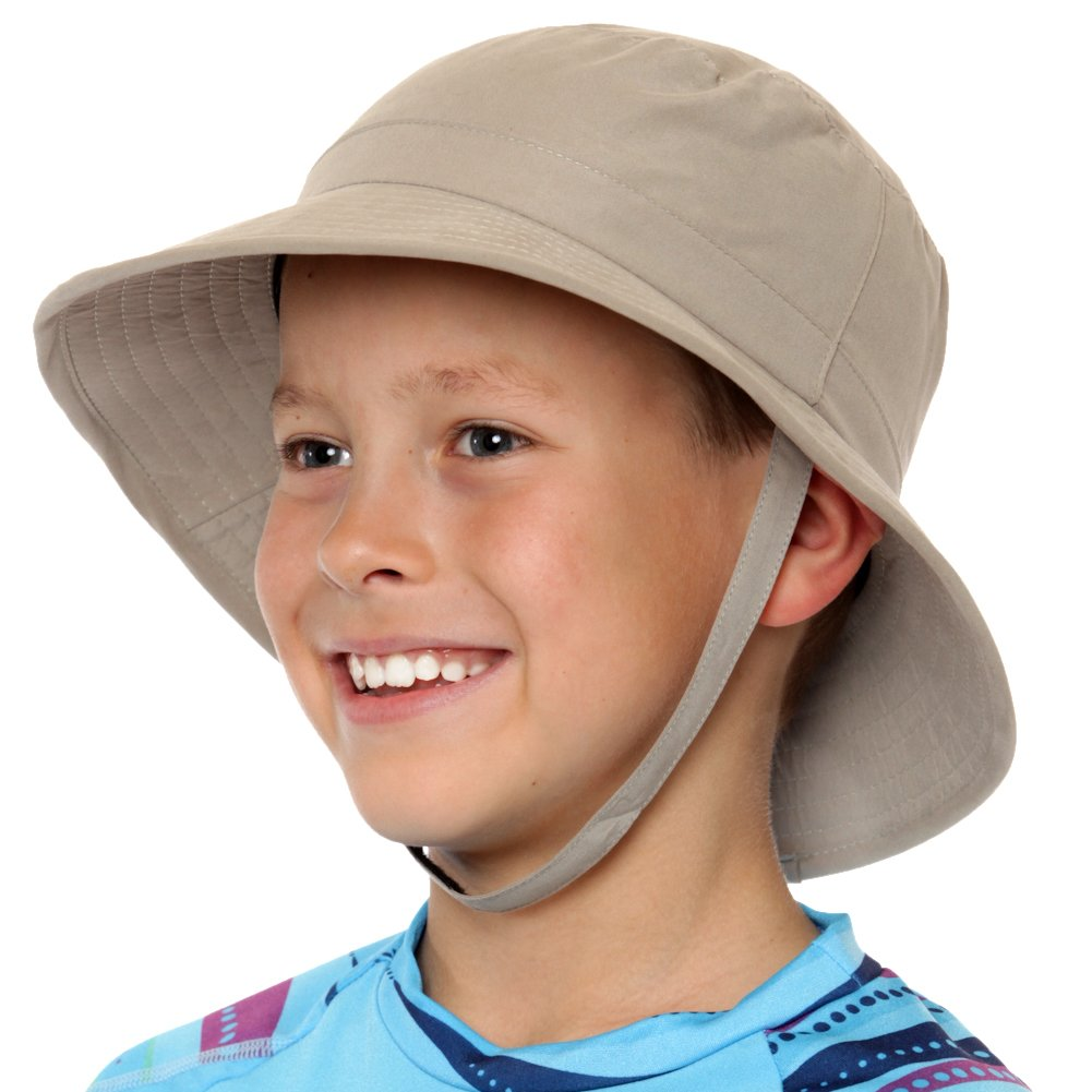 Nozone Kids Sun Hat Tan, Small
