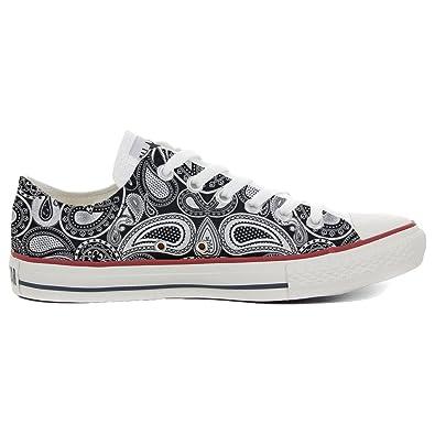 Converse All Star personalisierte Schuhe (Handwerk Produkt) Elegant Paisley