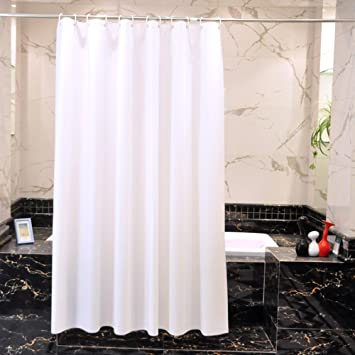 Amazon.com: Mold Resistant Shower Curtain, Wekity PEVA Eco-Friendly ...