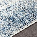 "Artistic Weavers Desta Blue/White Area Rug, 5'3"" x"