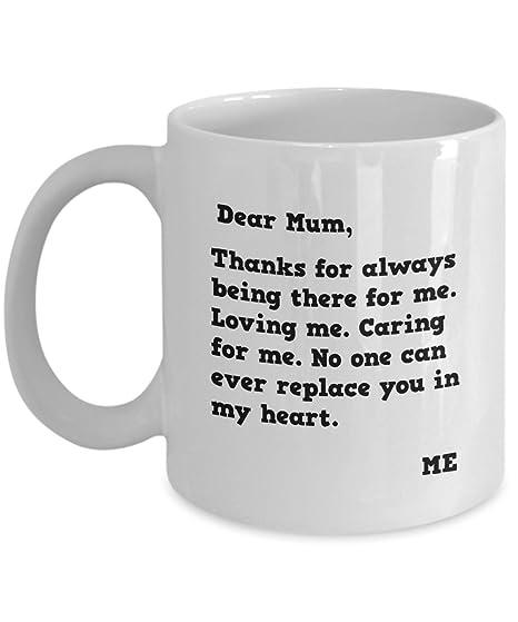 Tazas de café para madres día querida mamá chocolate caliente Latte ...
