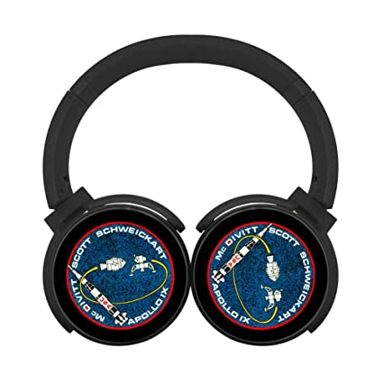 Amazon.com: MagicQ Apollo 9 NASA Bluetooth Headphones,Hi-Fi ...