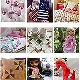 ROSENICE Fabric Bundle Squares Patchwork DIY Sewing Scrapbooking Quilting Pattern Artcraft 30PCS