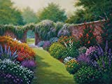 White Mountain Puzzles Secret Garden Jigsaw Puzzle (1000 Piece)